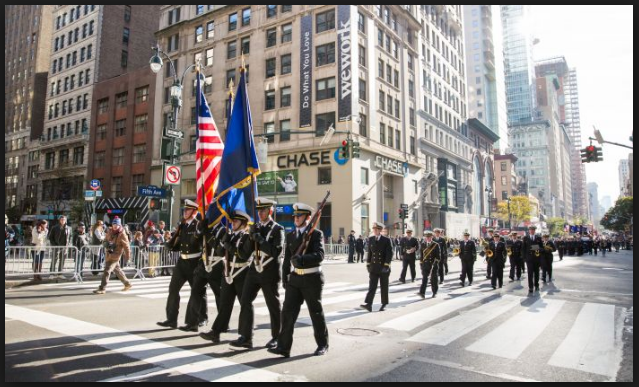 veterans day parade wallpaper