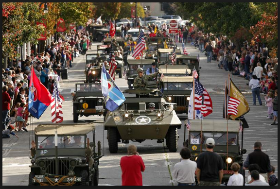Veterans day parade petaluma images