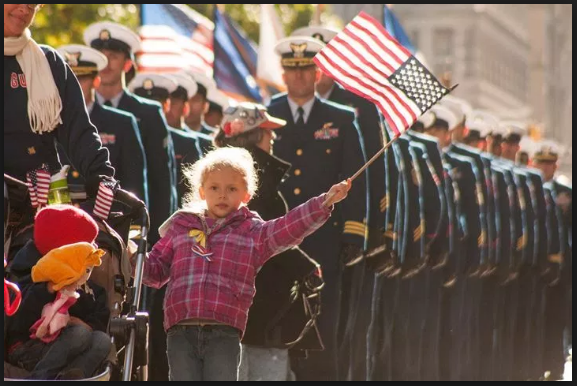 Veterans day parade hd pictures