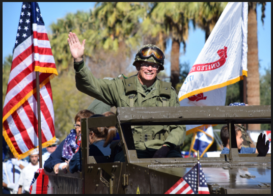 veterans day parade images of army