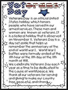 Famous Veterans Day Poems Rhymes and Prayers for Church