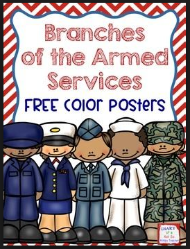 US armed forces veterans day clipart