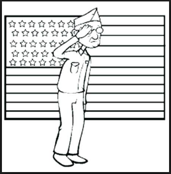 veterans day coloring pages and sheets printable