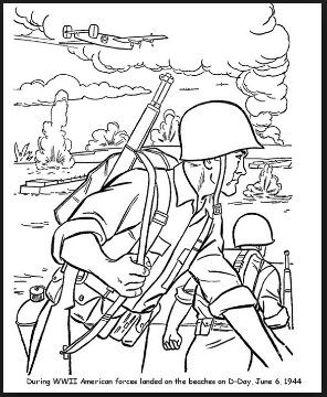 free veterans day coloring pages for preschool