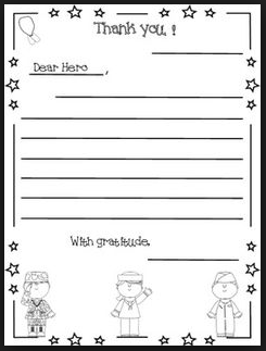 printable veterans day templates