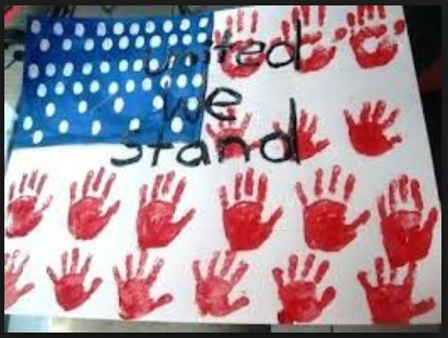 happy Veterans Day handmade banners and cards