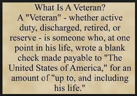 What is veterans day meaning