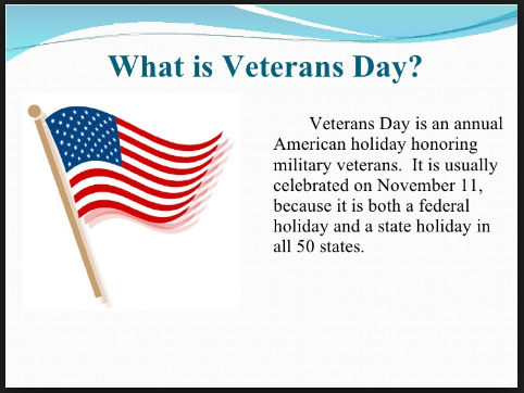 what is veterans day images