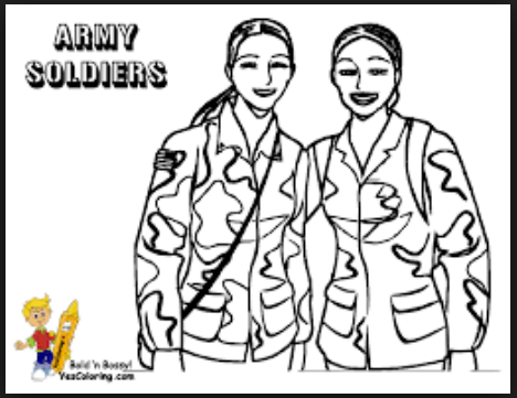 veterans day coloring worksheets