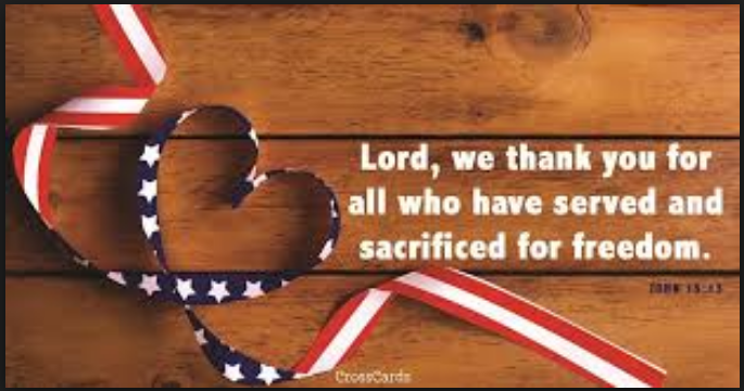 veterans day tribute prayers
