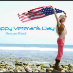 Happy veterans day celebration