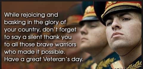 veteran day greetings to tribute
