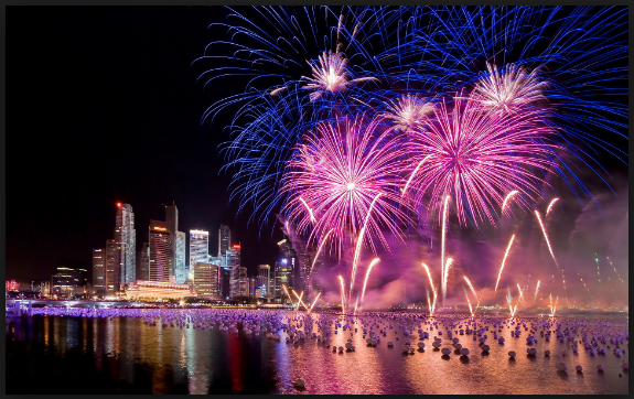 amazing new year firework pictures