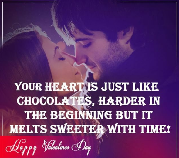 happy Valentine's day love text images