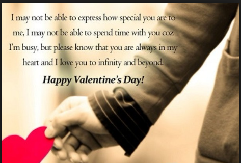 valentine day quote for girl