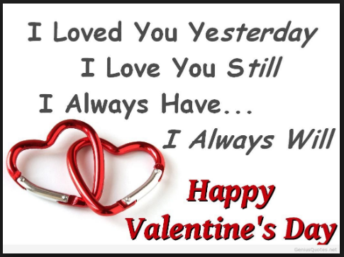 valentine day quote for boy