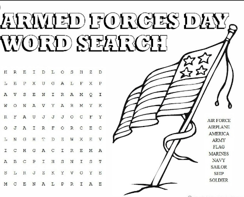 veterans day printable puzzles